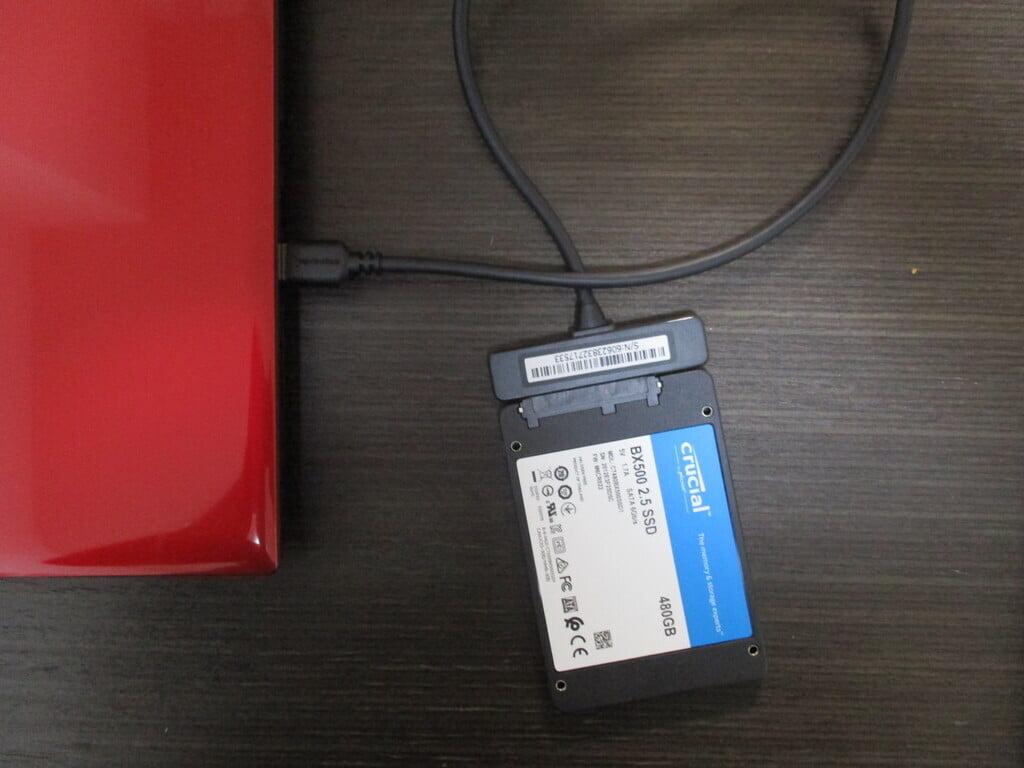 SSDクローン化