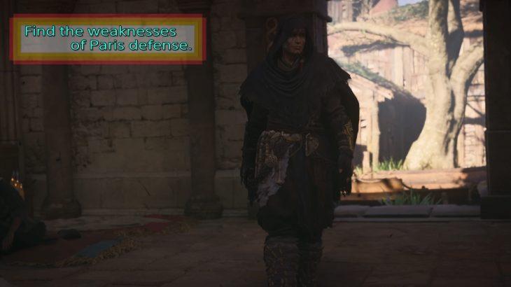 Assassin's Creed Valhalla DLC Paris siege   Secret attack place